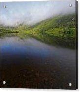 Morning Mist Over Gougane Barra Lake Acrylic Print