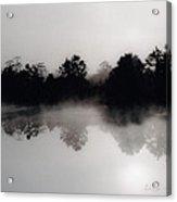 Morning Mist Reflection Acrylic Print