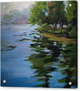 Morning Over Fowler Lake Acrylic Print