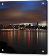 Morning Over Midtown - New York  Acrylic Print
