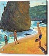 Morning Platja Dos Rosais Costa Brava Acrylic Print