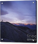 Morning Shooting Death Valley Acrylic Print