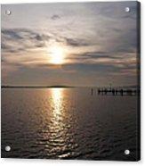 Morning Skies On The Chesapeake Acrylic Print