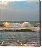 Morning Waves Acrylic Print