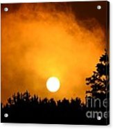 Morning's Mysterious Sunrise Acrylic Print
