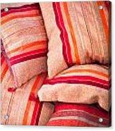 Moroccan Cushions Acrylic Print