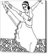 Moroccan Dancer Acrylic Print by John Keaton