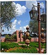 Moroccan Garden I Acrylic Print