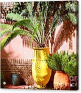 Moroccan Garden Acrylic Print