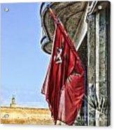 Morocco Flag I Acrylic Print