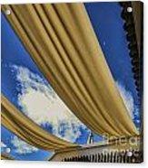 Morocco Riad I Acrylic Print by Chuck Kuhn