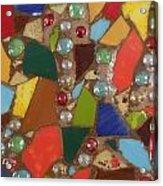 Mosaic Art 1 Acrylic Print