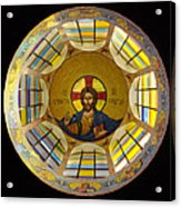 Mosaic Christ Acrylic Print