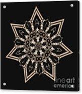 Mosaic Work Of Sepia Art  Acrylic Print