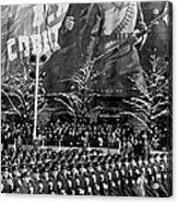 Moscow: Military Parade Acrylic Print