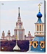 Moscow State Universite  Acrylic Print