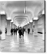 Moscow Underground Acrylic Print