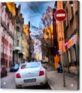 Moscow's Streets Acrylic Print