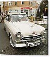 Moscvich Car Acrylic Print