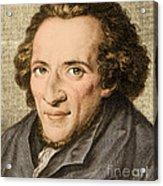 Moses Mendelssohn, German Philosopher Acrylic Print