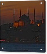 Mosque At Dusk Acrylic Print