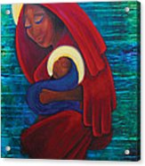 Mother And Child Acrylic Print
