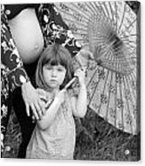 Mother And Daughter Acrylic Print by Denice Breaux