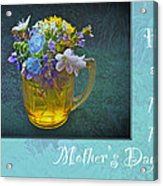 Mother's Day Card - Tiny Wildflower Bouquet Acrylic Print