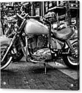 Motor Cycle Acrylic Print