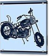 Motorbike 1a Acrylic Print by Mauro Celotti