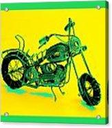 Motorbike 1b Acrylic Print by Mauro Celotti