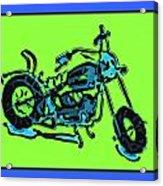 Motorbike 1c Acrylic Print