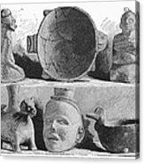 Mound Builders: Pottery Acrylic Print