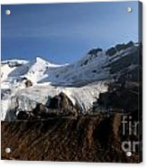 Mount Athabasca From The Columbia Icefields Acrylic Print