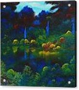 Mount Auburn Acrylic Print