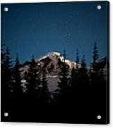 Mount Baker Starry Night Acrylic Print