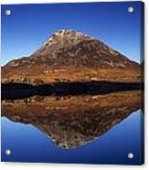Mount Errigal, Lough Nacung, Dunlewy Acrylic Print