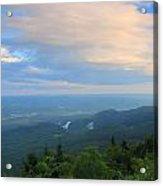 Mount Greylock Adams Overlook Acrylic Print