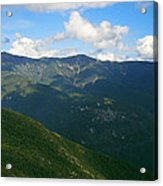 Mount Lafayette From Top Of Cannon Mountain Acrylic Print