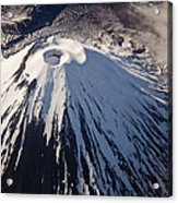 Mount Ngauruhoe Tongariro Np New Zealand Acrylic Print by Colin Monteath