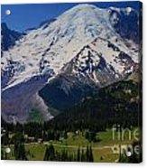 Mount Rainier Again Acrylic Print