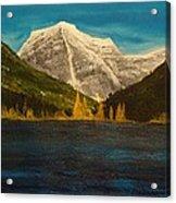 Mount Robson Alberta Acrylic Print