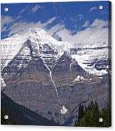 Mount Robson Acrylic Print