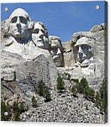 Mount Rushmore Vertical Acrylic Print