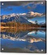 Mount Si Reflection Acrylic Print