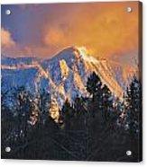 Mount Si Winter Wonder Acrylic Print