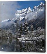 Mount Siguniang Is An Area Acrylic Print