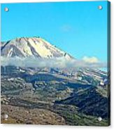 Mount St Helens And Castle Lake Acrylic Print