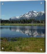Mount Tallac View Of The Cross Acrylic Print