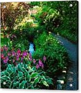 Mount Usher Gardens, Co Wicklow Acrylic Print